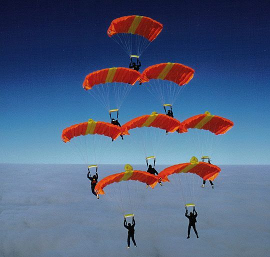 Sky Diving Conquering The Sky 4 Skydiving Diving Outdoors Adventure