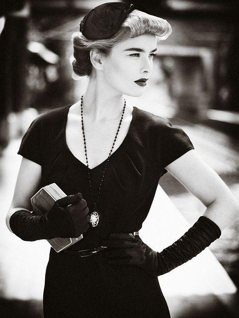 Vogue Fashion Black Style