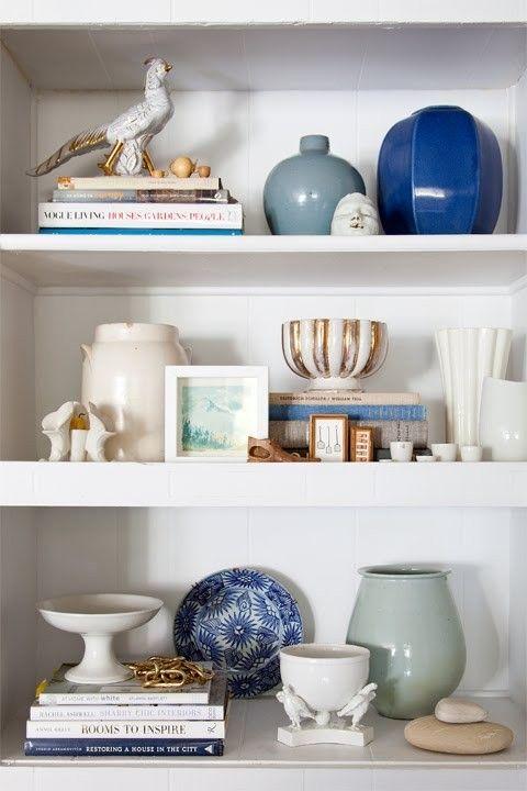 boekenkast decoratie