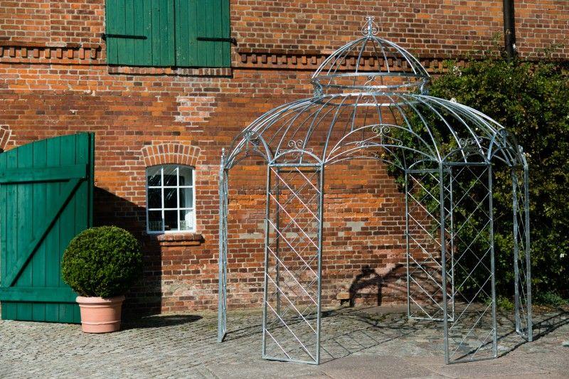 gartenpavillon metall romantik feuerverzinkt 340cm garten pinterest garten pavillon und. Black Bedroom Furniture Sets. Home Design Ideas
