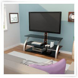 Z Line Elecktra Flat Panel 3 In 1 Television Mount System