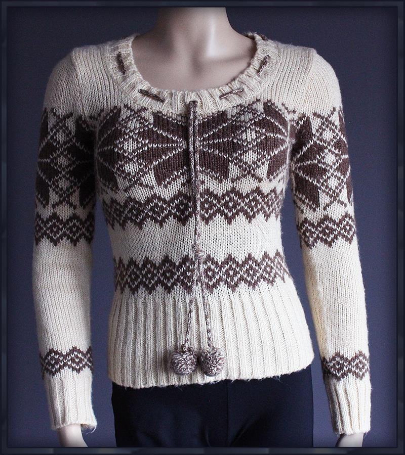 Evie Sliczny Cieply Sweterek Etniczny Aztec 34 36 7090161154 Oficjalne Archiwum Allegro Moda Boho Fashion Hippie Boho