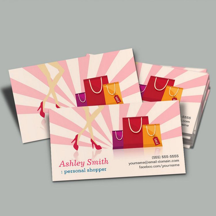 Personal shopper business cards you can customize this card with personal shopper business cards you can customize this card with your own text logo photo or use this pre existing template for free reheart Images