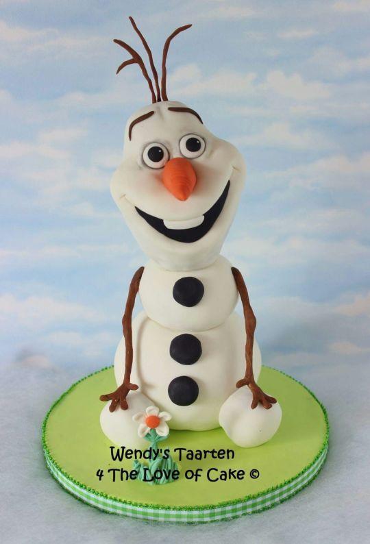 Olaf 3d Cake Olaf Cake Disney Cakes 3d Cake