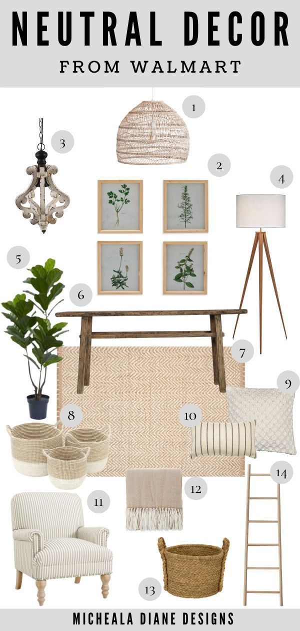 Neutral Living Culture Of Walmart Micheala Diane Designs