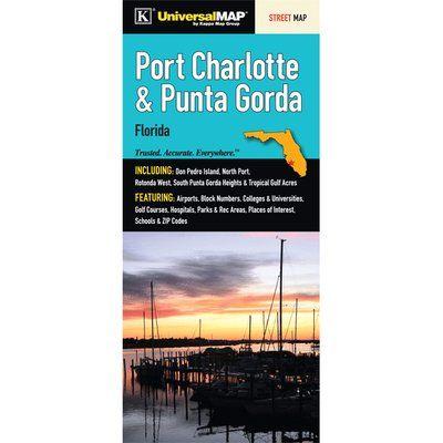 Street Map Port Charlotte Florida.Universal Map Port Charlotte Punta Gordian Charlotte County Florida
