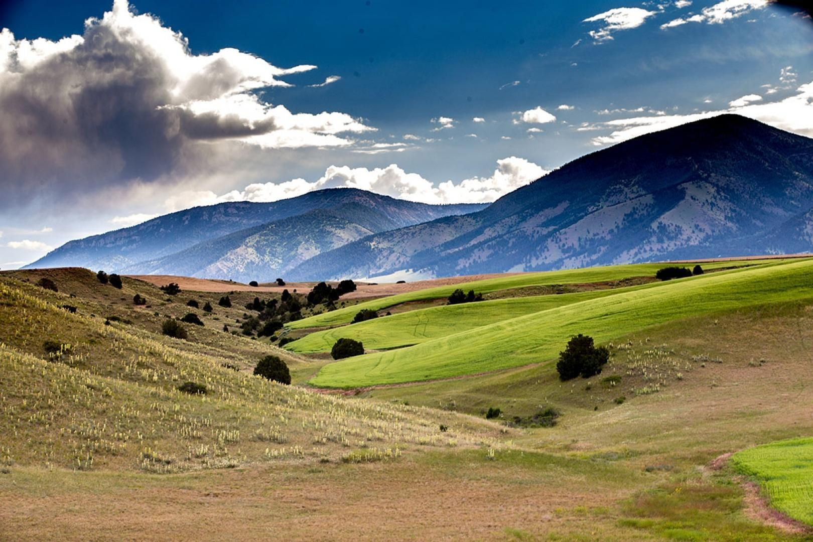 636 acres in Gallatin County, Montana Hunting land for