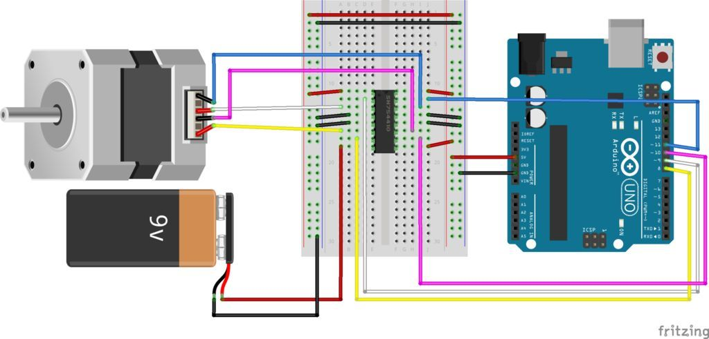 Controlling a stepper motor with an arduino ideas for