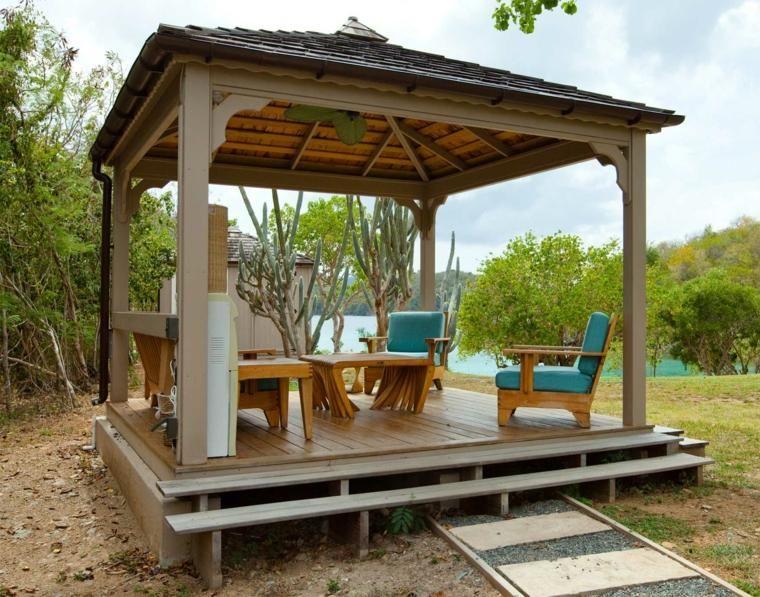 Holzpavillons Zum Isolieren Und Beschatten 50 Designs
