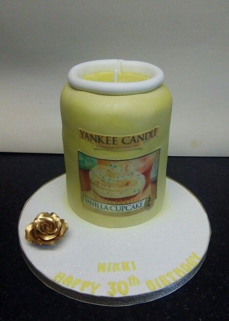 Yankee Candle Cake Birthday Parties Cakes Candles Party Themes Wedding Decorations