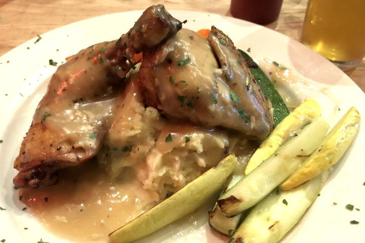 Half Roasted Chicken from The Druid, Cambridge, MA ...