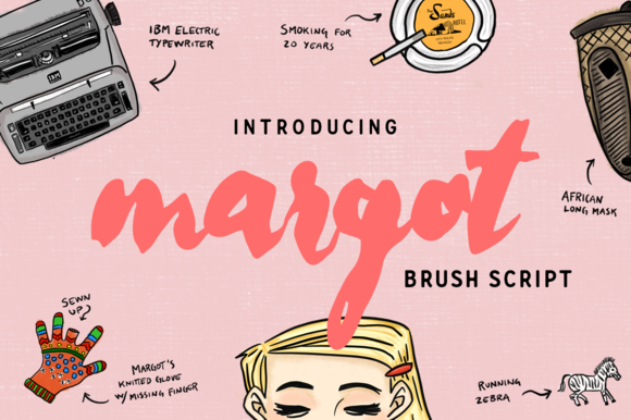 Margot - The typeface by daniel.feldt on @creativemarket