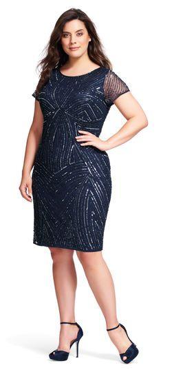 For adrianna papell sequin bodycon dress quartz girl city
