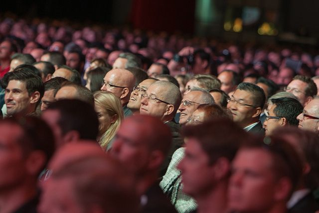 #oow Crowd During Keynotes by Oracle_Photos_Screenshots, via Flickr