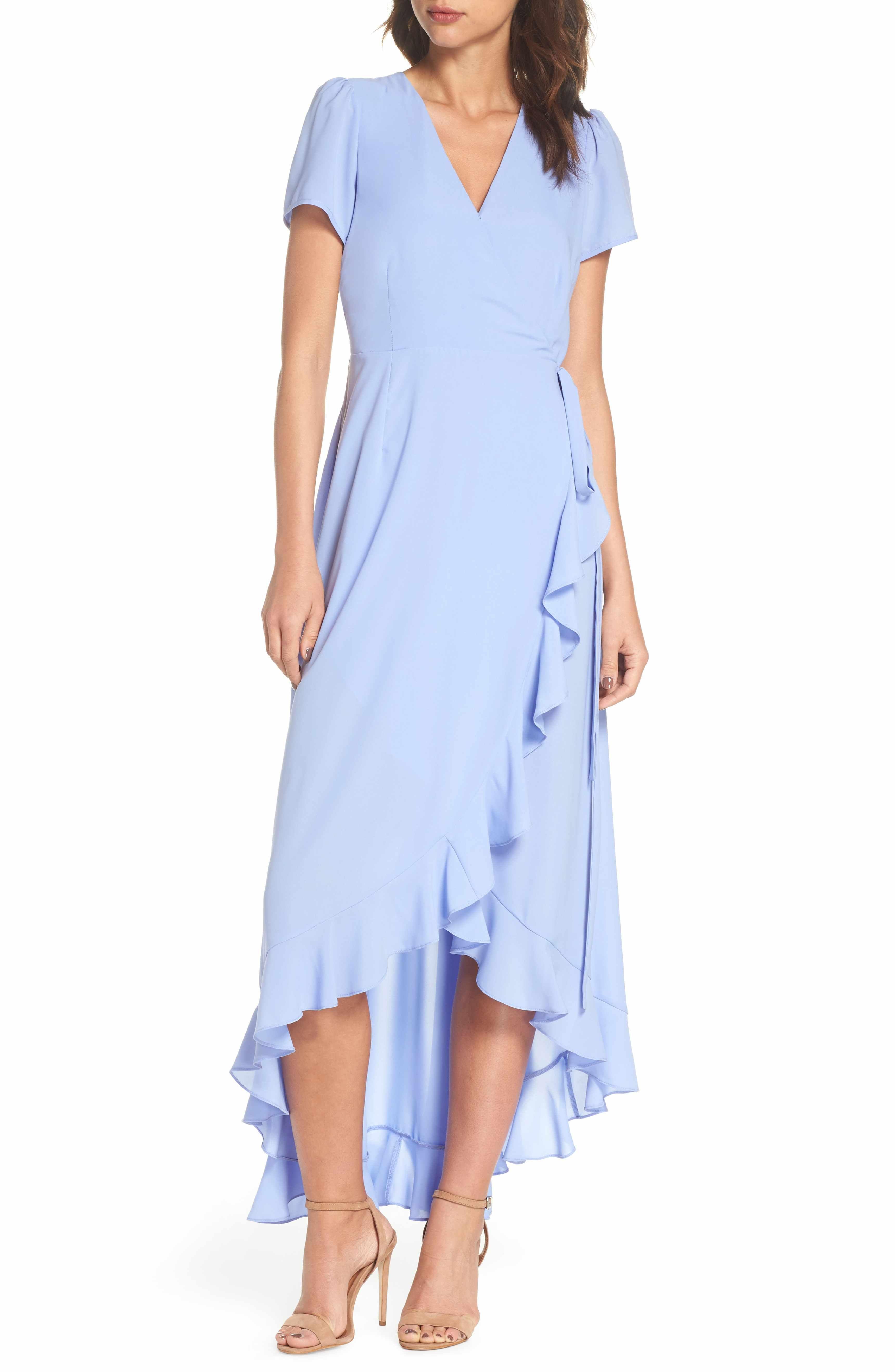 Felicity Coco Madge Ruffle Wrap Maxi Dress Regular Petite Nordstrom Exclusive Nordstrom Wrap Dress Styles Petite Wrap Dress Dresses [ 5272 x 3440 Pixel ]