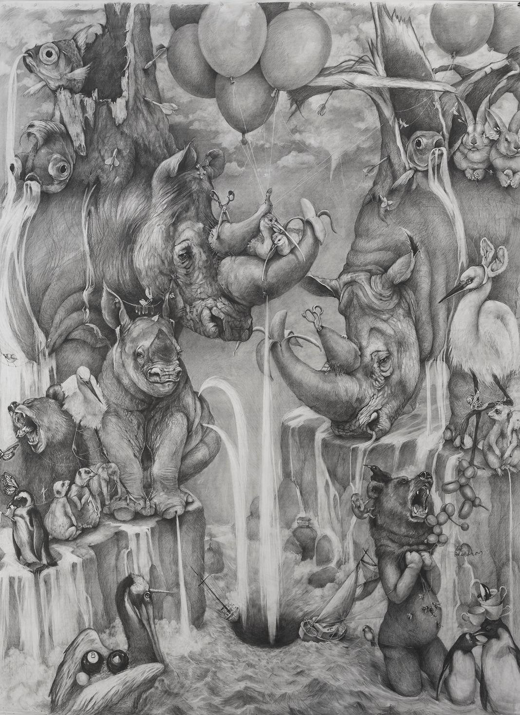 Large works adonna khare artist