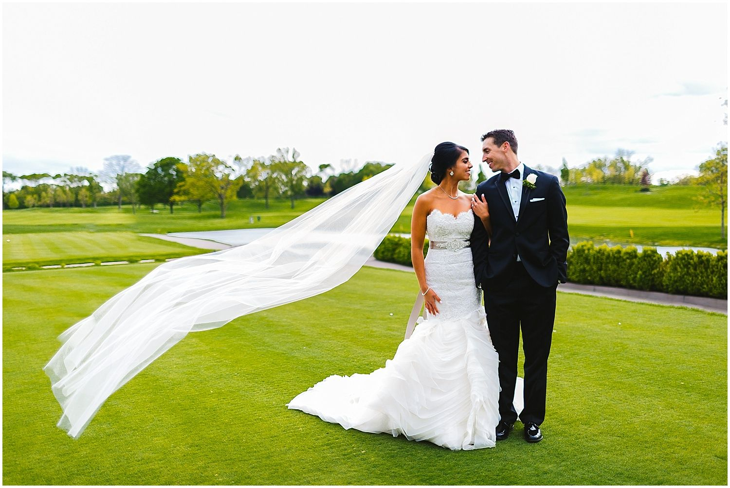Melissa patrickus butterfield country club wedding chicago