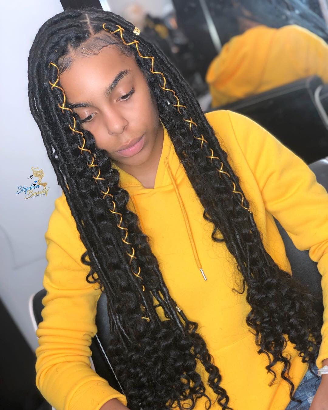 Pinterest Daehyor Girls Hairstyles Braids Faux Locs Hairstyles