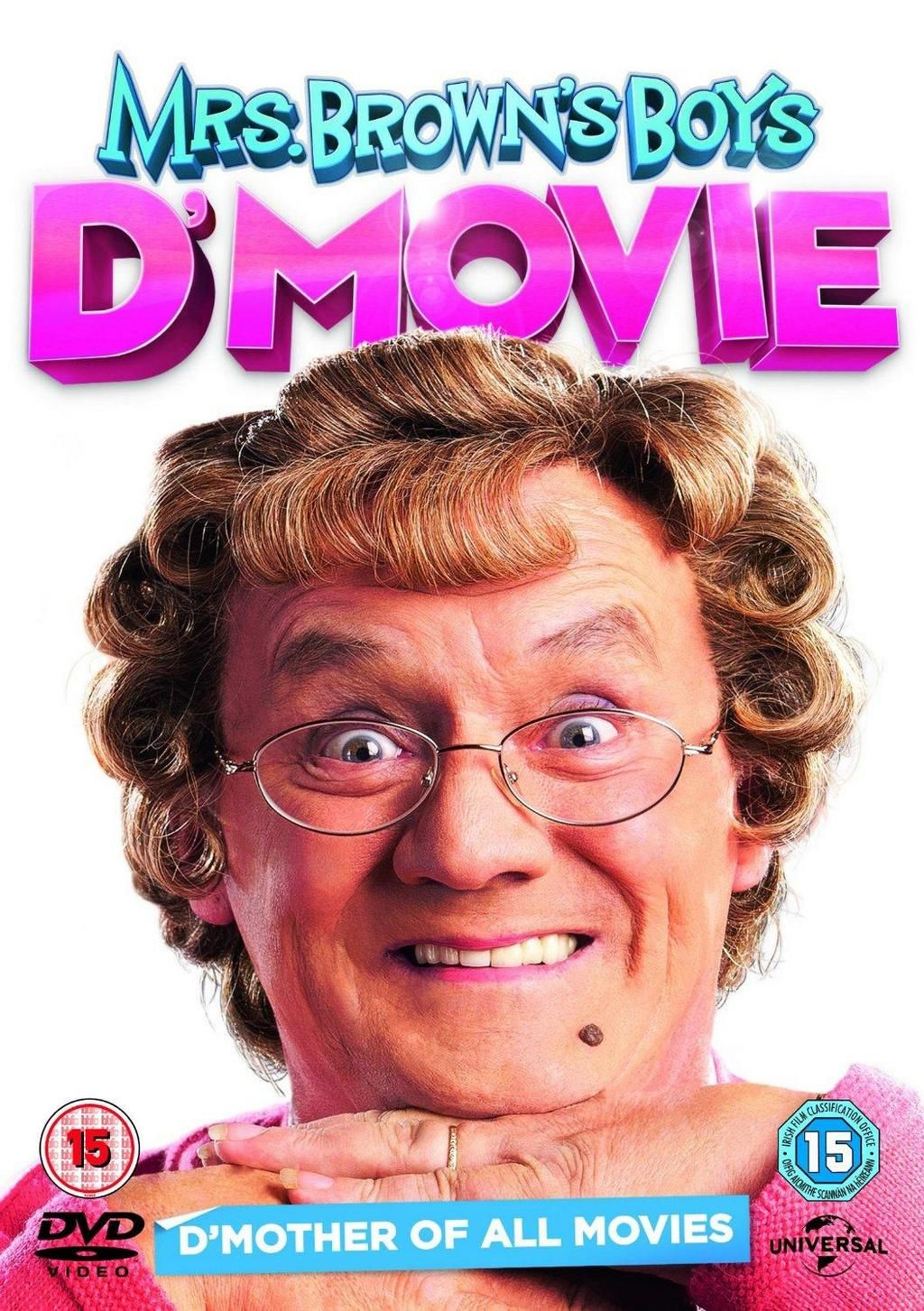 LOWEST EVER PRICE DROP Mrs Brown's Boys D'Movie DVD NOW £9.99