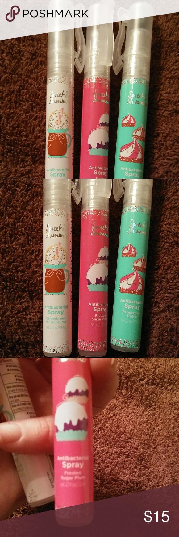 Antibacterial Spray Bundle NWT...3pk. aromatic holiday