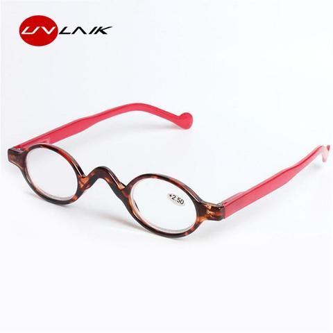 389621826168 UVLAIK Men Women Ultralight Rimless Reading Glasses HD Magnetic Diopter Presbyopic  Eyeglasses with Degree +1.0 +1.5 +2.0 +2.5