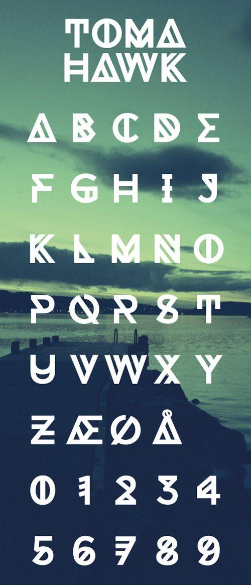 Tomahawk Free Fonts