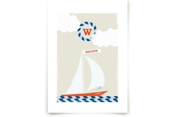 Set Sail by Kristie Kern at minted.com