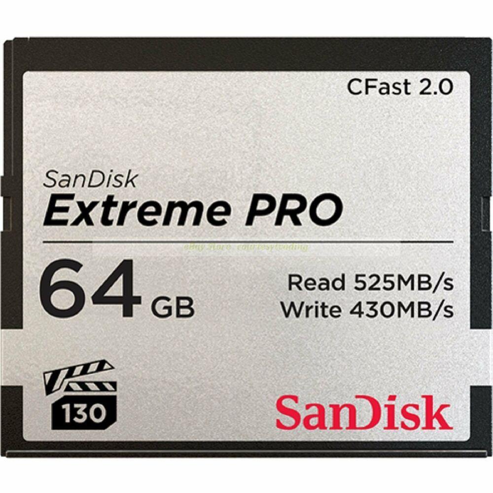 Compact Flash Karte.Ebay Sponsored Sandisk Cf 64 Gb Extreme Pro Cfast 2 0 525mb S Lesen