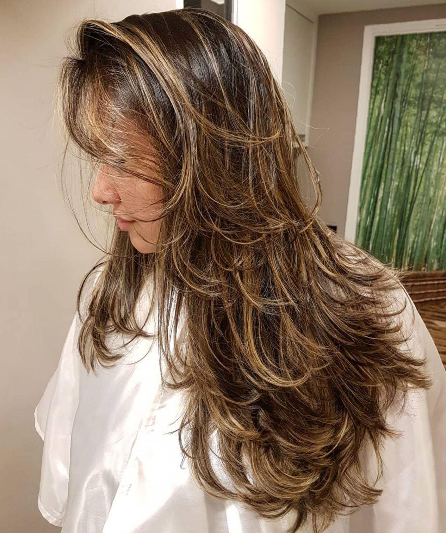 32++ Cute haircuts for long thin hair trends