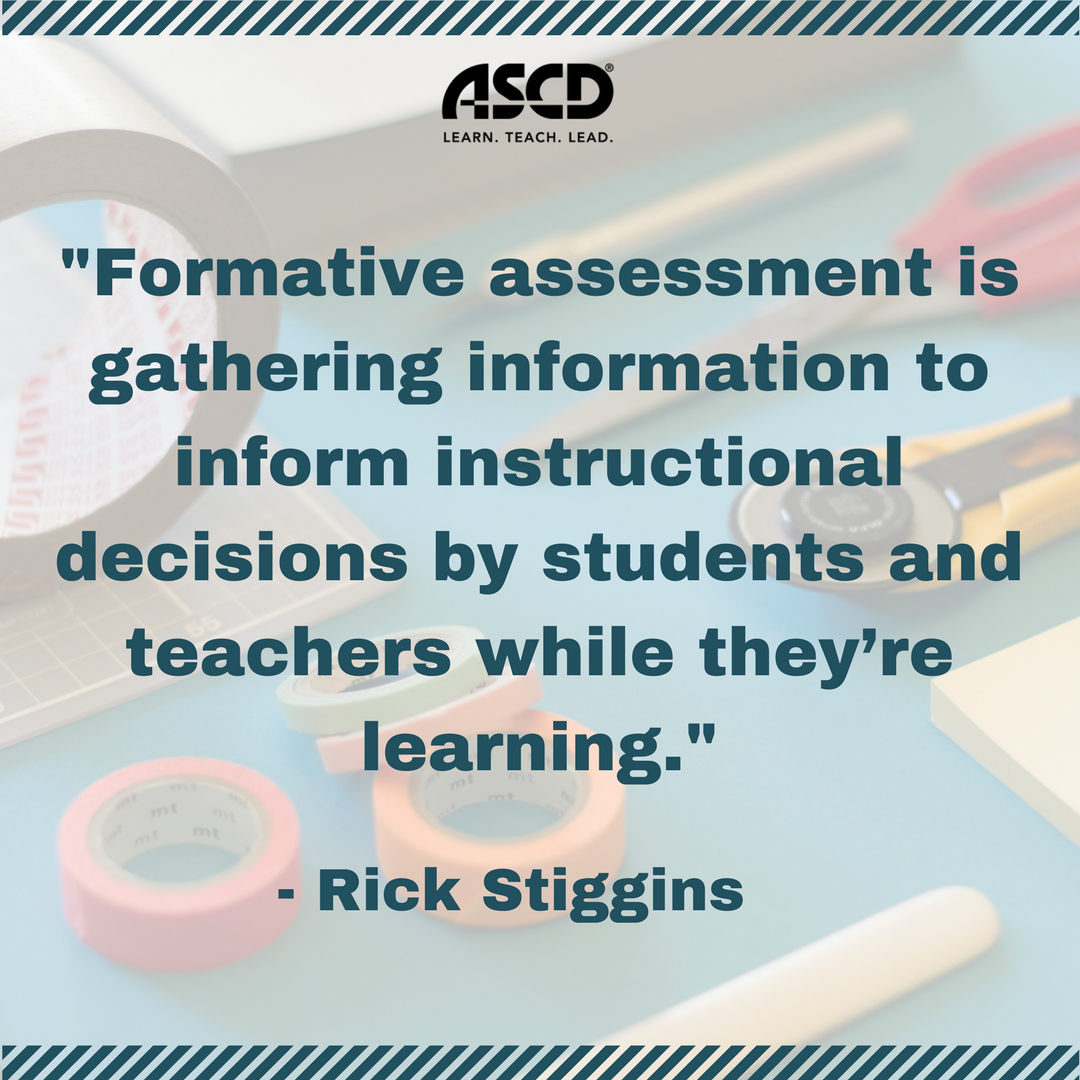 Rick Stiggins The Perfect Assessment System