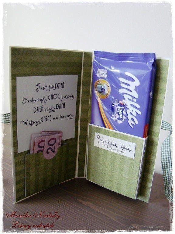 Jezeli Pieniadze Pod Choinke To Moze W Takiej Formie Small Gifts Cards Diy Gifts
