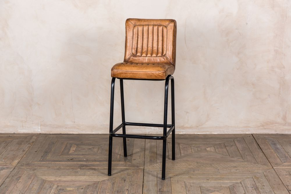 Amazing Jenson Distressed Leather Bar Stools Kitchen In 2019 Andrewgaddart Wooden Chair Designs For Living Room Andrewgaddartcom
