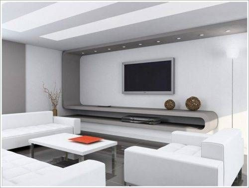 living room lcd tv wall unit design ideas | Home Designs ...
