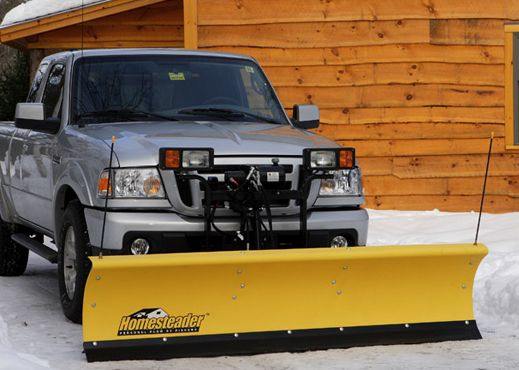 Fisher Ht Series Plow For Home Use 6 8 Or 7 4 Sizes Available Snow Management Snow Plow Truck Lights