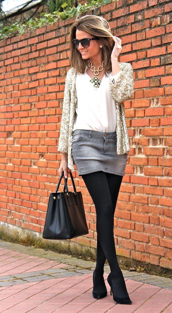 Fashion and Style Blog / Blog de Moda . Post: Mixing : Formal + Informal / Mezclando : Formal + Informal.See more/ Más fotos en : http://www.ohmylooks.com/?p=12657 by Silvia