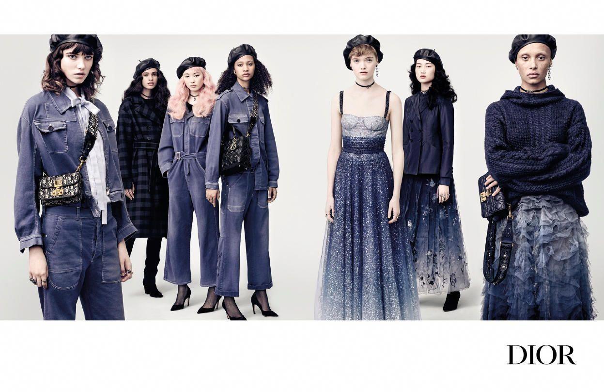 920162002d Dior Fall 2017 ad campaign. Photo  Brigitte Lacombe.  MiuMiu