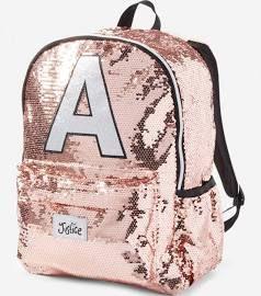 69044753c8 Justice - Girls Sequin Sparkle Initials Backpack. Tween Girls ...