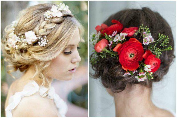 Zdjecie Nr 1 W Galerii Slubne Inspiracje 2015 Romantyczne Upiecia Korony Z Warkoczy Loki I Kwiaty Zdjecia Hair Styles Wedding Hair