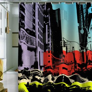 Nyc Shower Curtain By Deny Designs Cool Shower Curtains