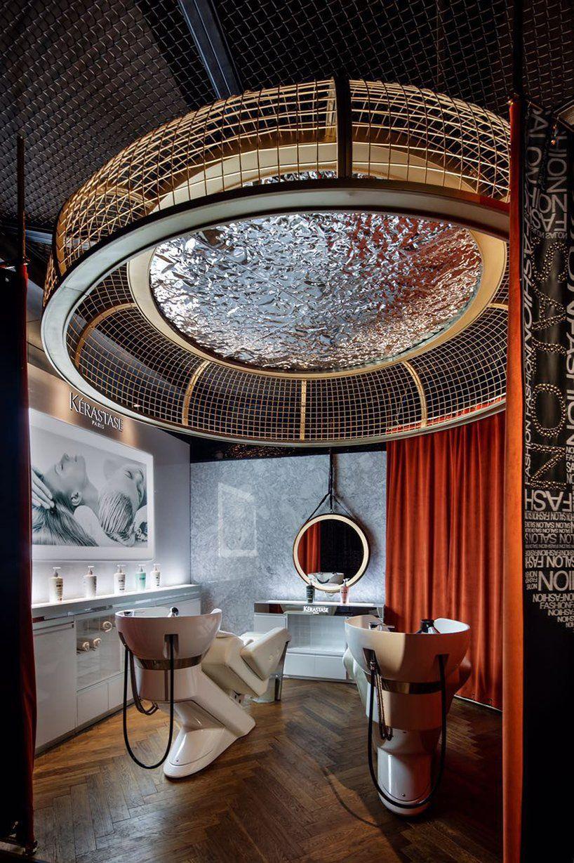 S5 Design Creates A Moody Punk Interior For Barber Shop In Wuxi China Barber Shop Decor Barber Shop Salon Interior Design