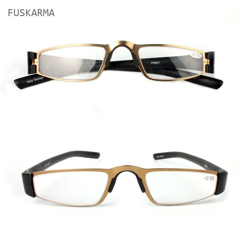 2016 New Unisex Reading Eyewear Metal Glasses Frames Reading Glasses Women Men Fashion Eyeglasses 1.0 1.5 2.0 2.5 3.Oculos YJ022