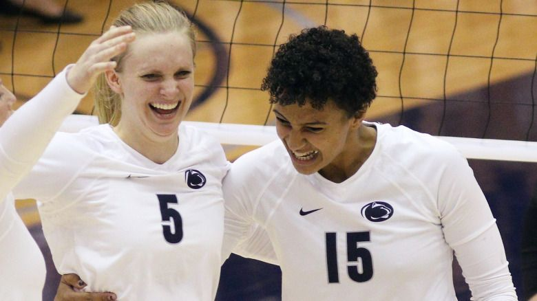 Penn State Picked Fourth In B1g Preseason Poll Penn State University Athletics Women Volleyball Volleyball News Penn State