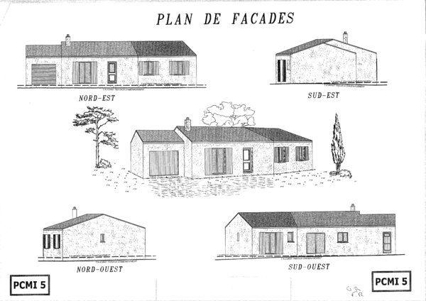 Plan-de-facades Actualités Pinterest Dune