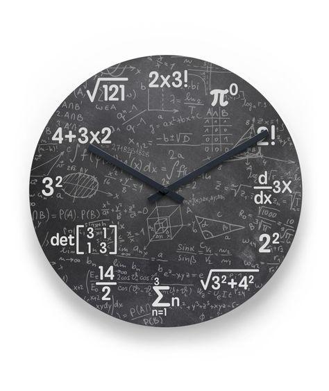 Mathematics Clock Wall