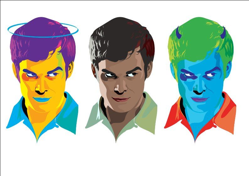 dexter pop art