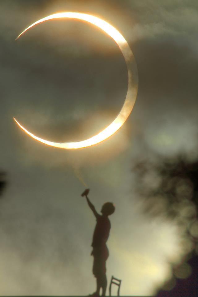 Annual eclipse
