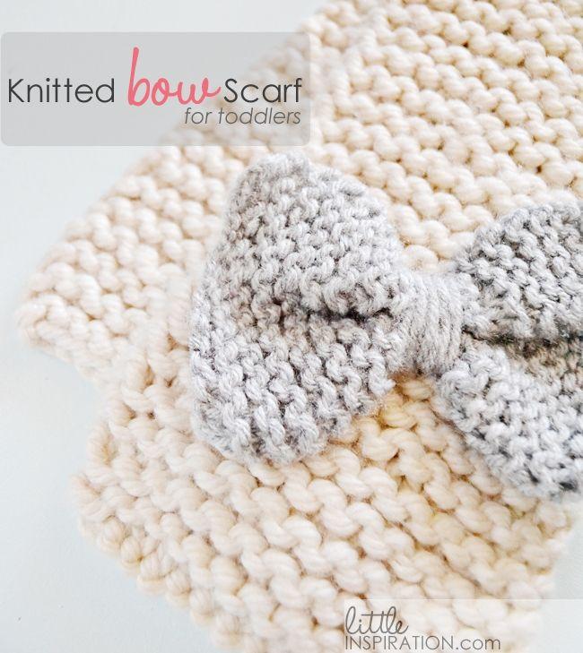 how to knit a bow scarf | Ideas de inspiración | Pinterest | Tejido ...