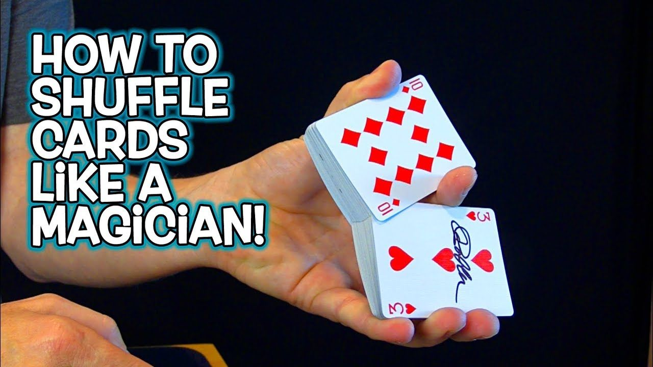 How to shuffle cards like a magician top 5 youtube