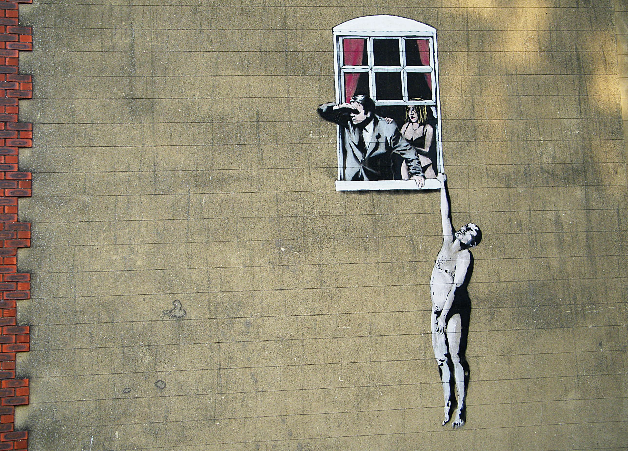 15 Life Lessons From Banksy Street Art That Will Leave You Lost For Words Banksy Art Street Art Banksy Banksy
