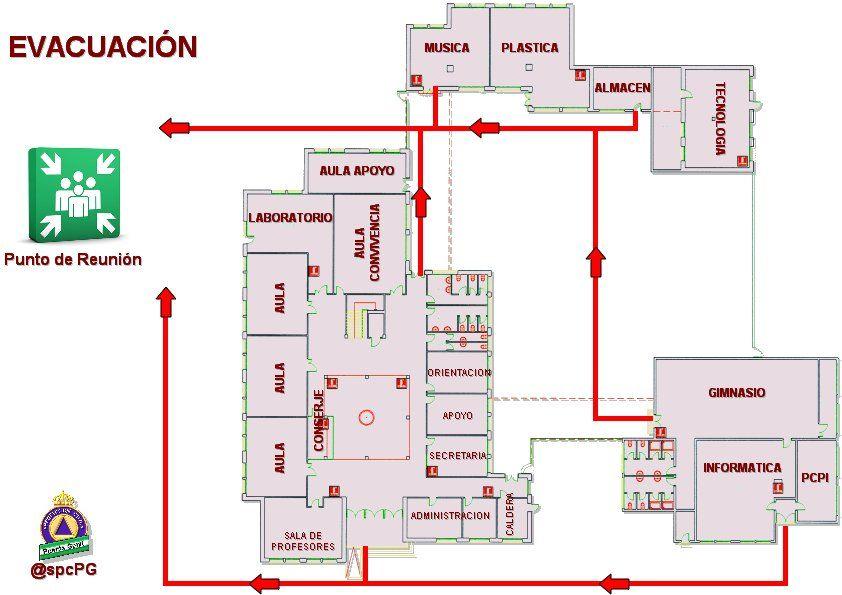 Plano escuela casa ciudad situar pinterest for Plano escuela infantil